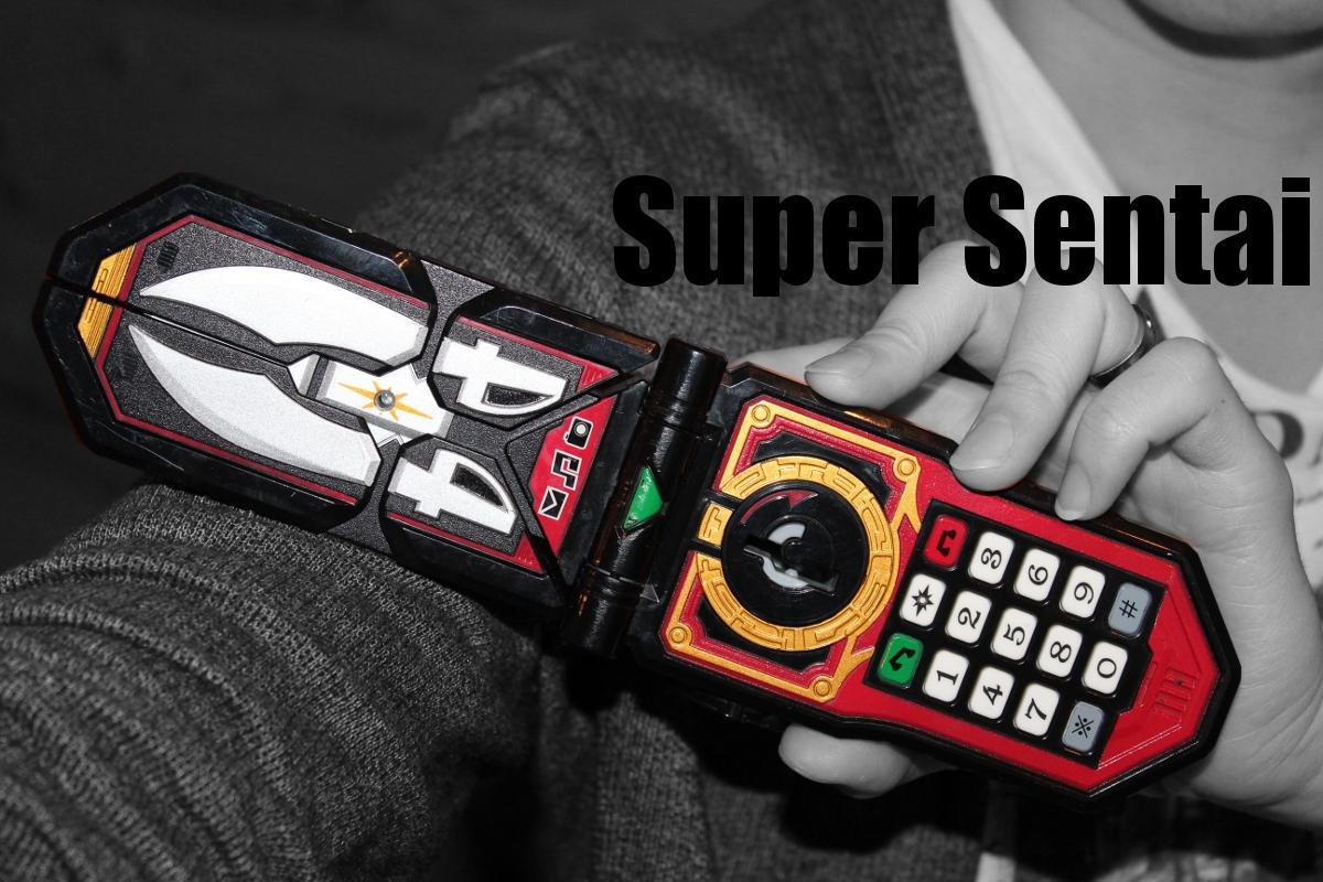 Super Sentai Toys