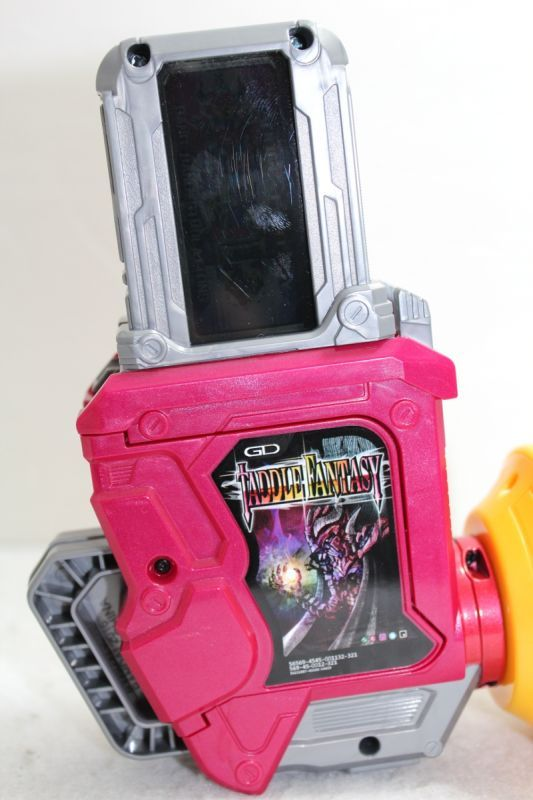 Gears Used In Toys : Kamen rider ex aid dx gashat gear dual β used