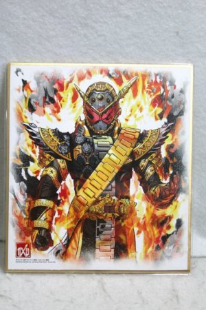Photo1: Kamen Rider Zi=O / Illustration Board Shikishi Art Ohma Zi-O (1)