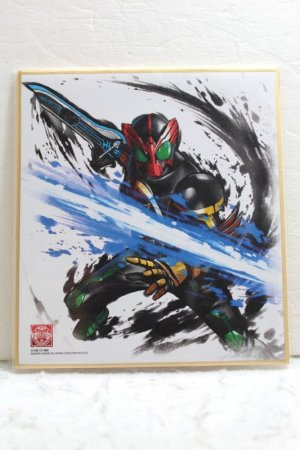 Photo1: Kamen Rider OOO / Illustration Board Shikishi Art OOO TaToBa Combo (1)