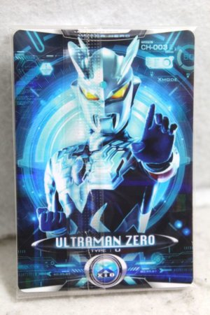 Photo1: Ultraman X / Cyber Card CH-003 Ultraman Zero (1)