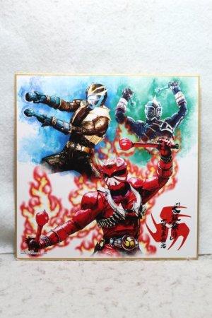 Photo1: Kamen Rider Hibiki / Ichiban Kuji Suisai Shikishi Collection Hibiki Kurenai & Ibuki & Todoroki (1)