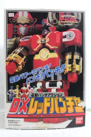 Photo1: Choriki Sentai OhRanger / DX Red Puncher with Package (1)