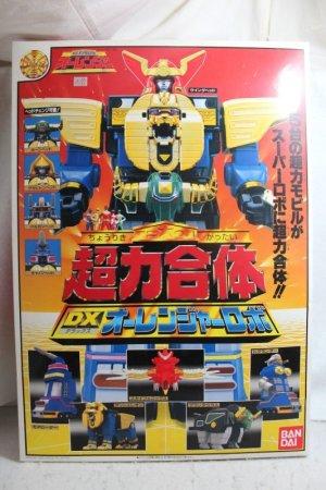 Photo1: Choriki Sentai OhRanger / DX Ohranger Robo with Package (1)