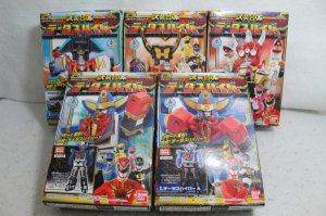 Photo1: Tensou Sentai Goseiger / Minipla Datas Hyper Sealed (1)