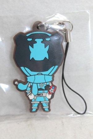 Photo1: Uchu Sentai Kyuranger / Rubber Strap Koguma Sky Blue (1)