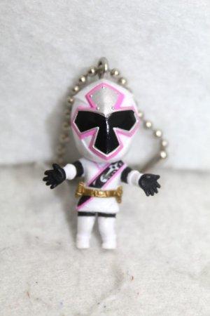 Photo1: Shuriken Sentai NinNinger / Key Chain Shiro Ninger (1)