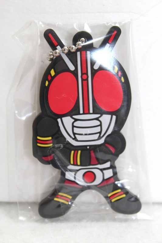 Kamen Rider Black Rubber Key Holder Kamen Rider Black Ktj