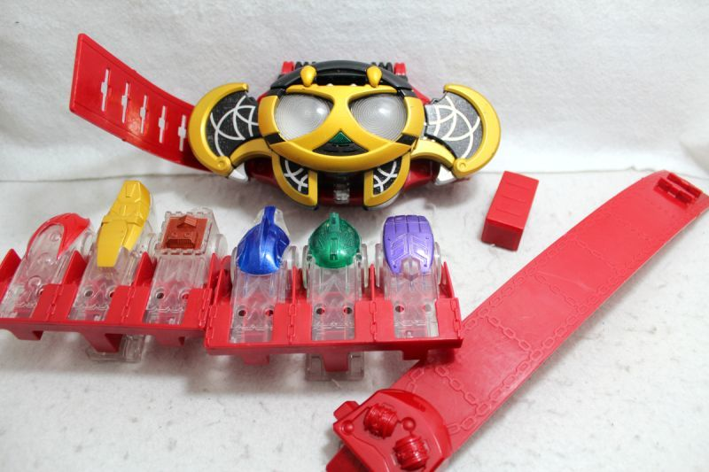 b8ffe1a9 Photo1: Kamen Rider Kiva / DX Kivat Belt & Fuessule Used ...