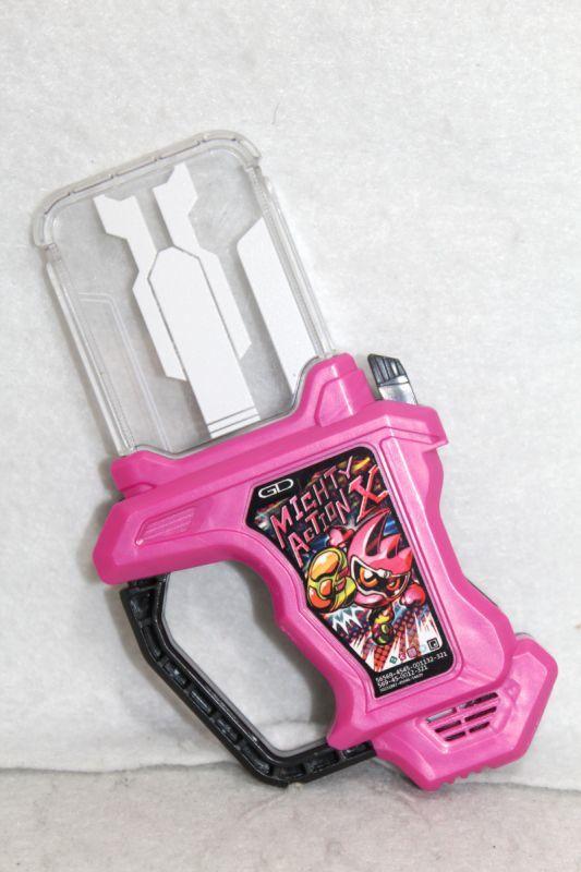 Bandai Kamen Rider Ex-Aid DX SG Rider Gashat 01 Mighty Action X