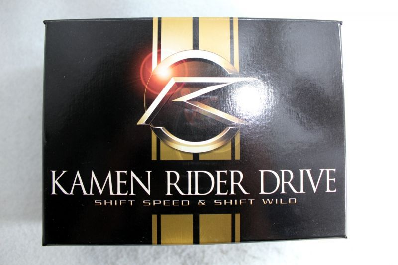 Kamen Rider Drive / Golden Shift Car Shift Speed Gold ver  & Shift Wild  Gold ver  Set